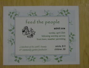 """Photo: """"Feed the People"""" fundraiser (for Garden and Food Pantry)"""