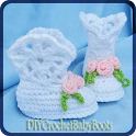 DIY Crochet Baby Boots icon