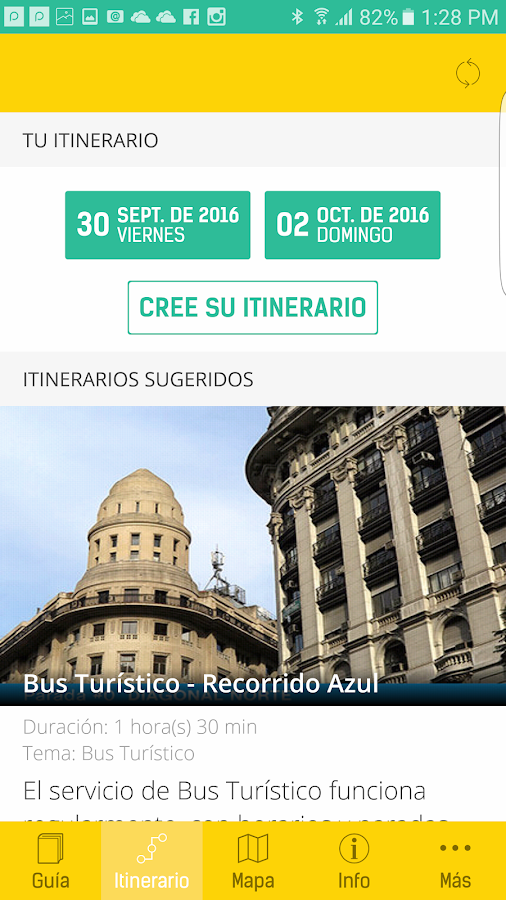BA Turismo- screenshot