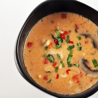 Thai Chicken-and-Rice Soup