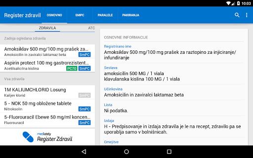 【免費醫療App】Mediately Register Zdravil-APP點子