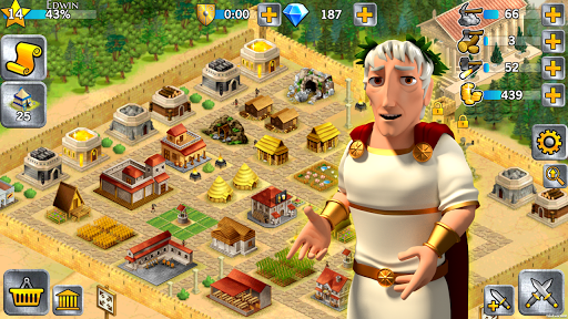 Battle Empire: Rome War Game 1.6.2 screenshots 10