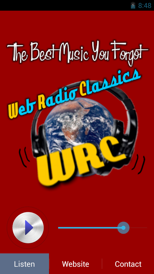 Web Radio Classics - WRC- screenshot