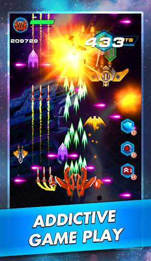 Galaxy Sky Shooter: Space Phoenix Hawk Attack 1.5 screenshots 1