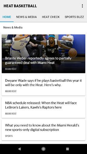 Heat Basketball screenshots 1