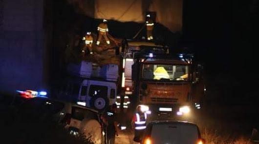 Extinguido un conato de incendio en el Barranco de la Canastera en Vélez Blanco