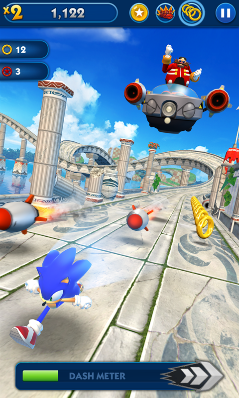 Sonic Dash (MOD, Unlimited Money) 3