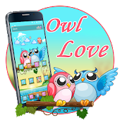 Owl Love Cute Theme