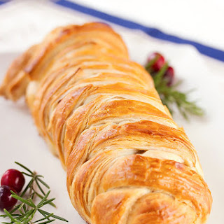 Cranberry, Goat Cheese & Wild Rice Turkey Wellingtons