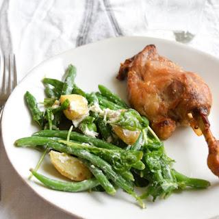 Easy Duck Confit Dinner