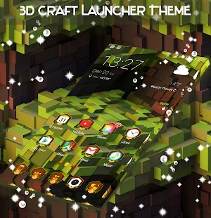 Launcher 3D Craft - náhled