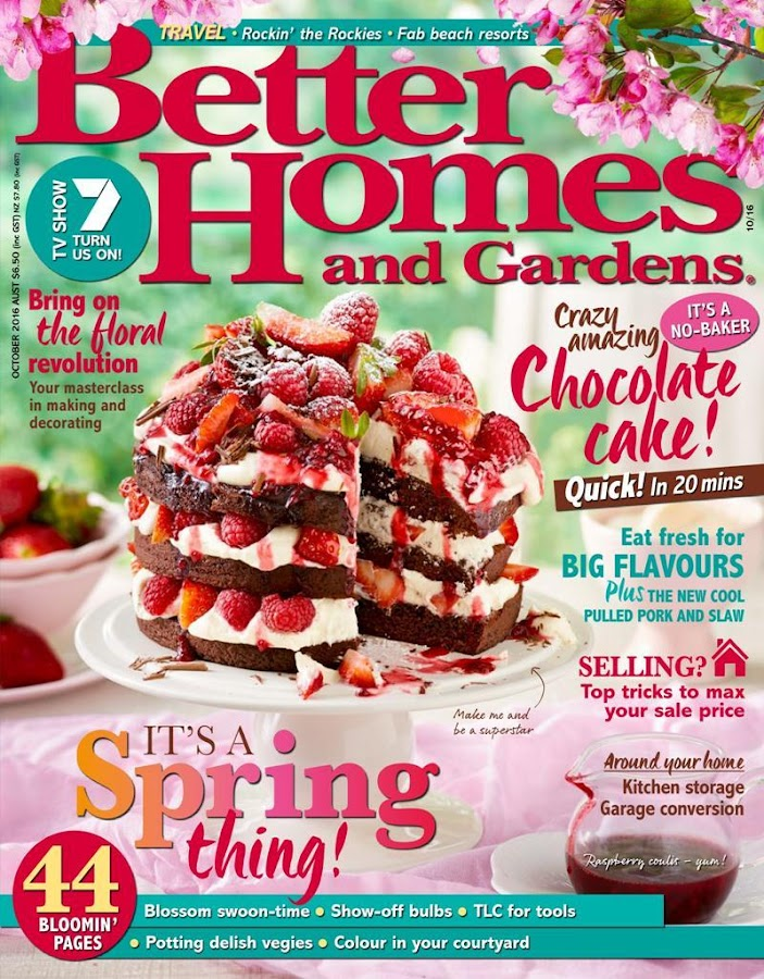 Better homes and gardens aus android apps on google play Better homes and gardens latest recipes