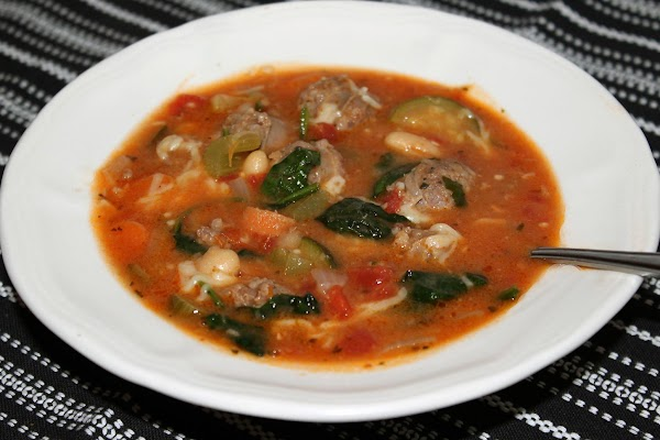 Tuscan Sausage And Vegetable Soup By Rr Recipe