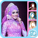 Modern Kebaya Bridal Hijab icon