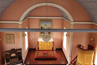 Photo: interieur kerk Reykholt