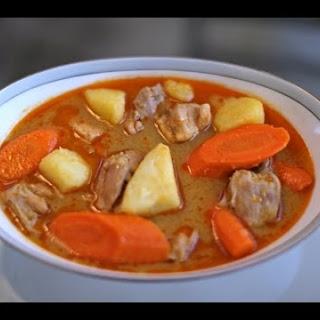 Massaman Curry(semi-homemade).