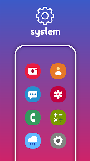 Screenshot for One UI Pie - Icon Pack in United States Play Store