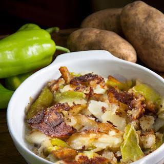 Crispy Italian Fried Potatoes and Peppers
