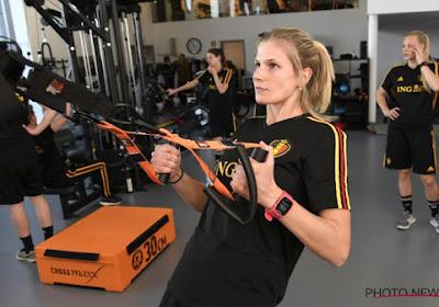 """Meteen pech voor Red Flame Justine Vanhaevermaet: """"Maar ambities en doelen blijven dezelfde"""""""