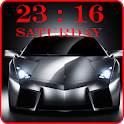 Cars Clock Live Wallpaper icon