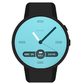 Binary Analog Watch Face