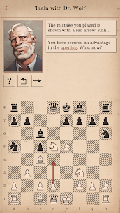 Learn Chess with Dr. Wolf MOD APK 1.8 [Subscription Unlocked] 6