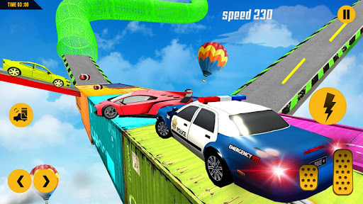 مطاردة سيارة الشرطة المستحيلة: ألعاب السيارات المثيرة 2020 لقطات 3