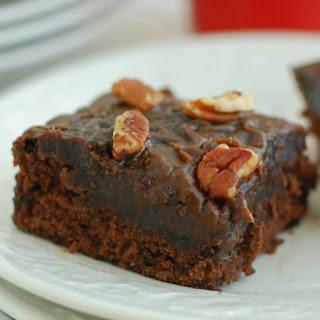 Mocha Cake with Chocolate Espresso Icing Gluten Free