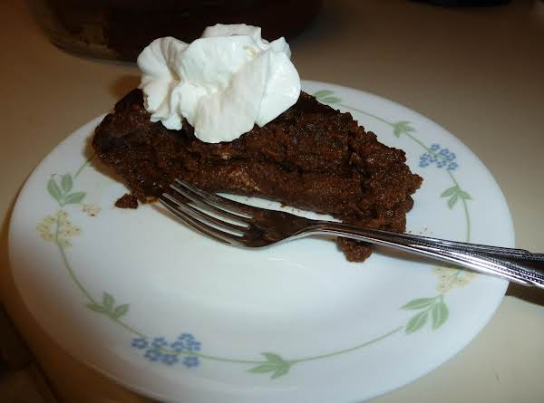 Chocolate Sweet Potato Crustless Pie Recipe