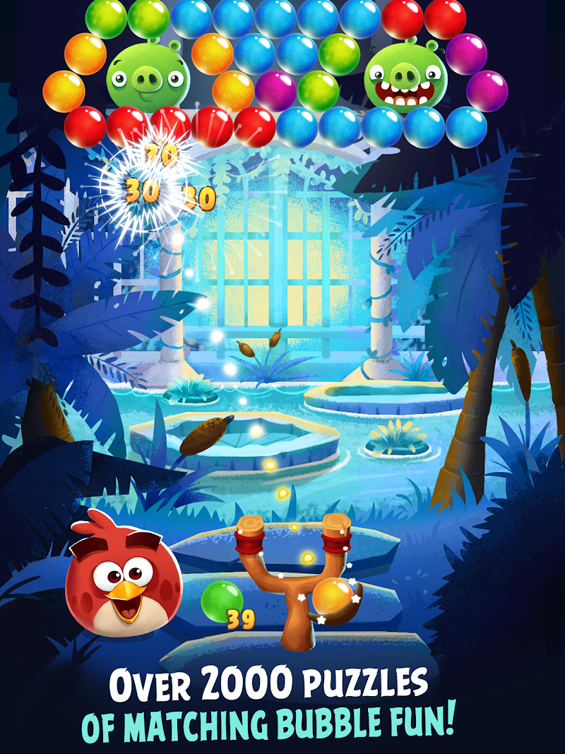 Angry Birds POP Bubble Shooter Screenshot 5