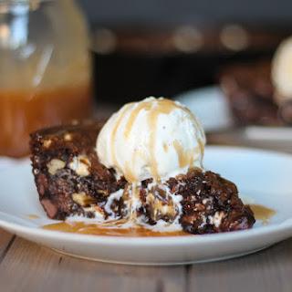 Triple Chocolate Skillet Cookie