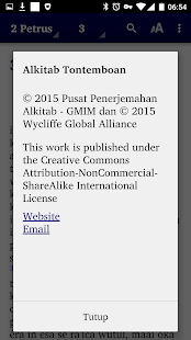 Alkitab Tontemboan- screenshot thumbnail