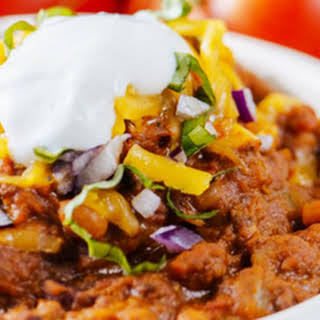 Super Easy Slow-Cooker Chili.