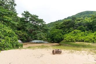 Photo: the hot fresh water fountain on a side of Đầm Trầu beach...