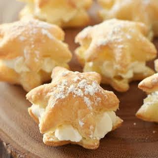 20 Minute Snowflake Cream Puffs.