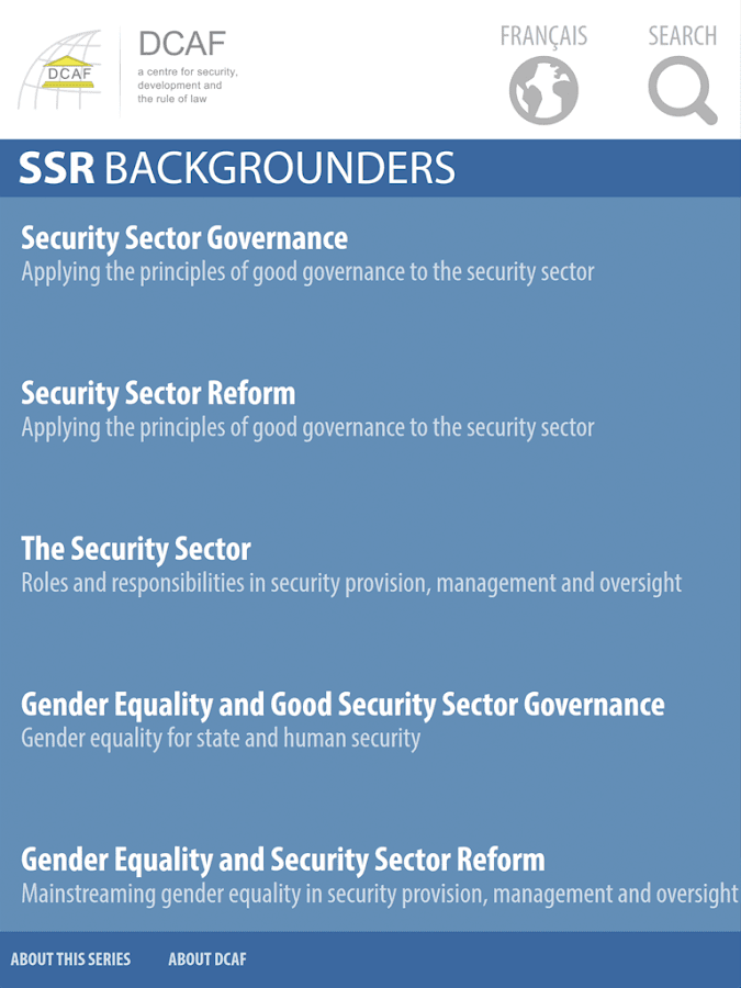 SSR Backgrounders- screenshot
