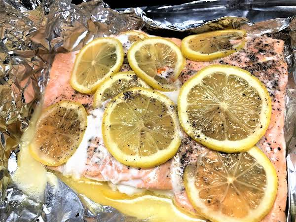 Baked Salmon In Foil Recipe