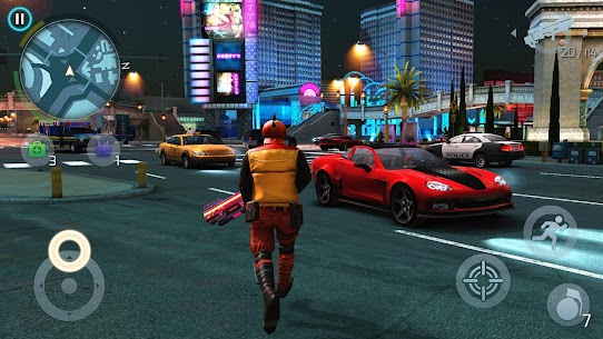 Gangstar Vegas: World of Crime 4.9.1a MOD APK (Unlimited Money+VIP Gold Status) 5