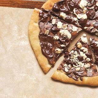 Chocolate Pizza.