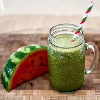 Kale Watermelon Smoothie.