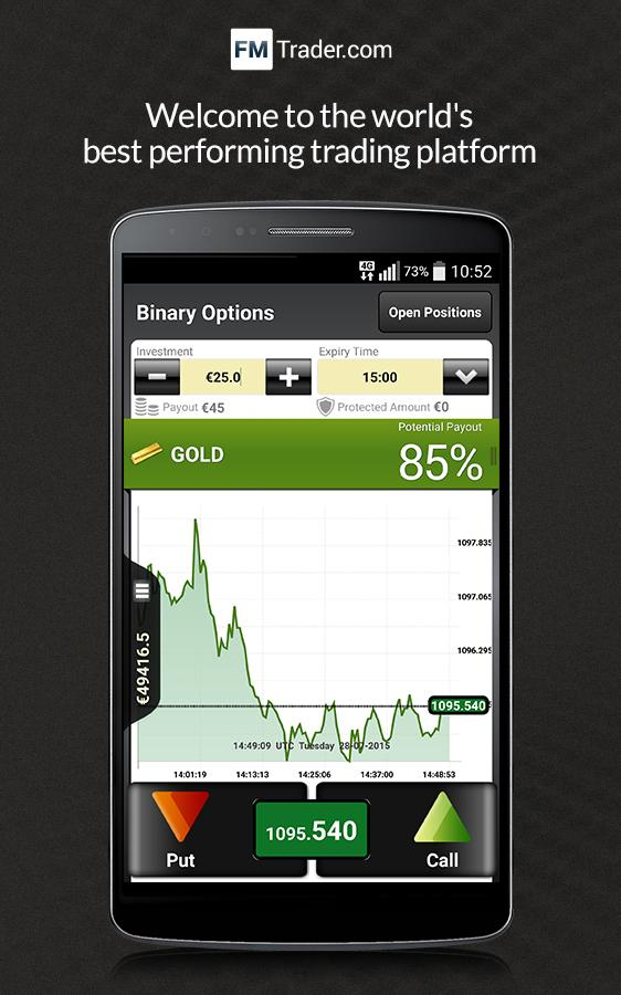 Binary option android