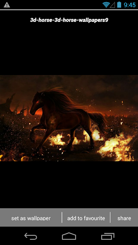 android 3D Horse Wallpapers HD Screenshot 2