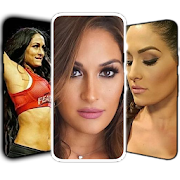 Nikki WWE Bella Wallpaper FULL HD icon