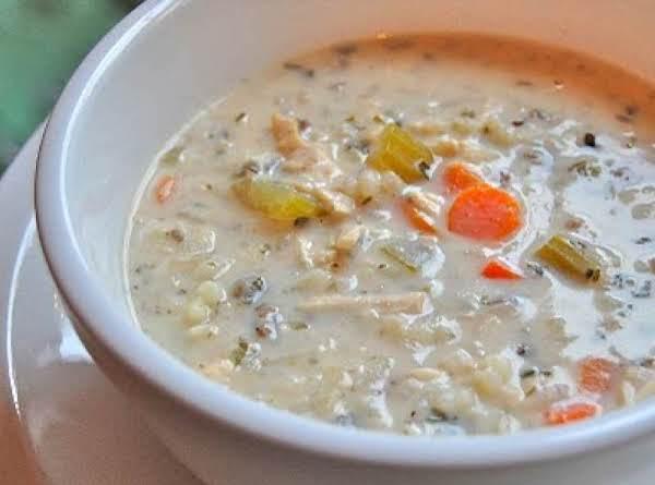 Creamy Chicken & Wild Rice Soup Recipe