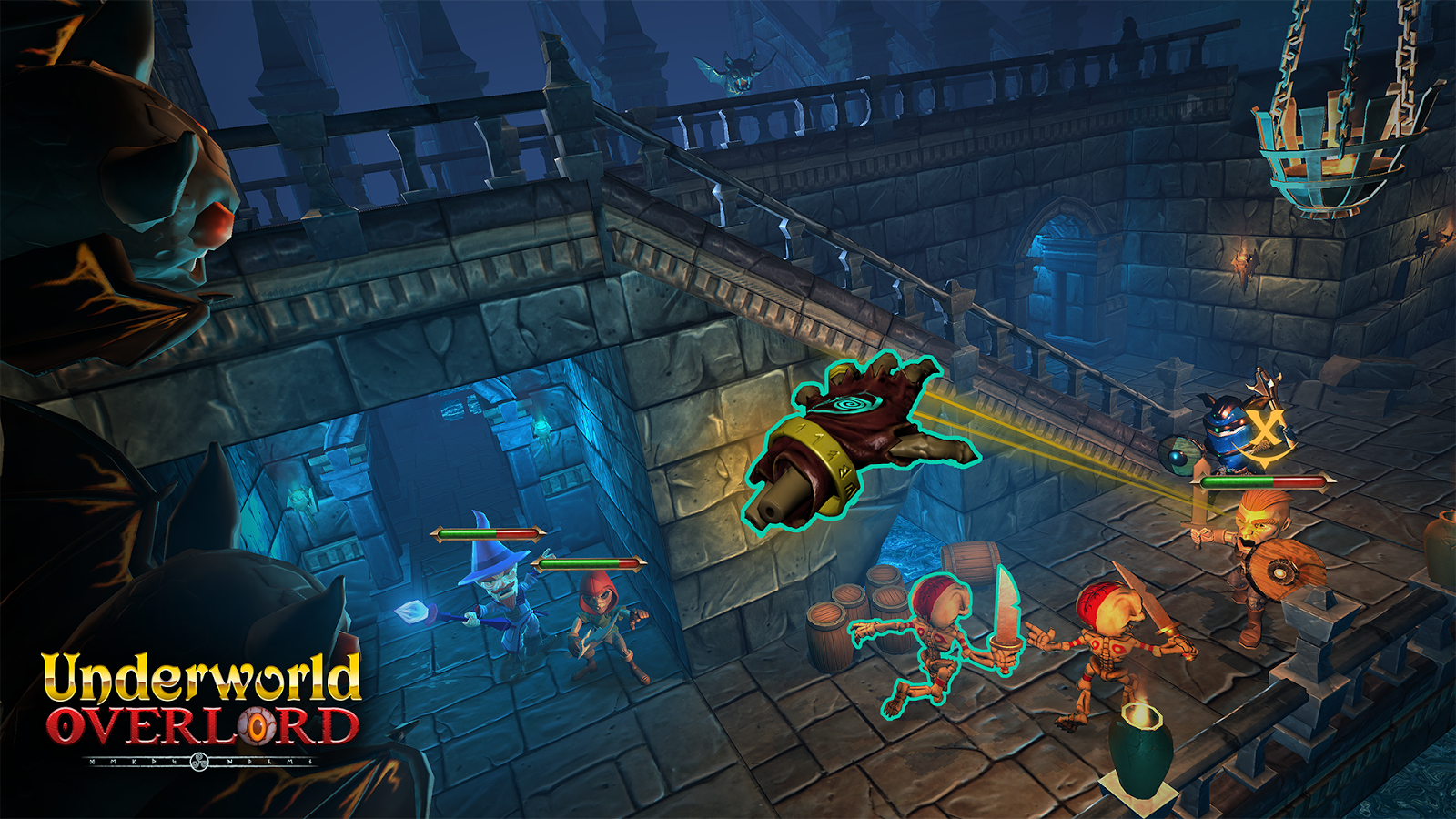 Underworld Overlord- screenshot