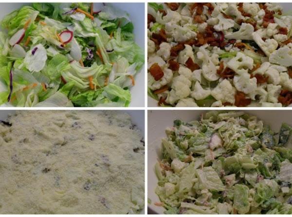 Parmesan Cheese Dressing Salad Recipe