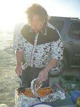 Photo: dashboard lasagna... good eats!