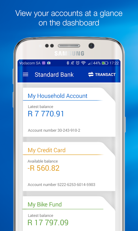 Standard Bank / Stanbic Bank- screenshot