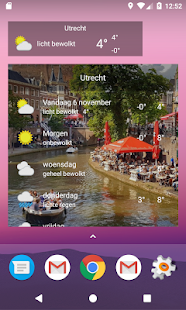 Utrecht - Weer - náhled