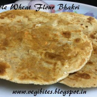 Whole Wheat Flour Bhakri (Gehun ke atte ki bhakri).